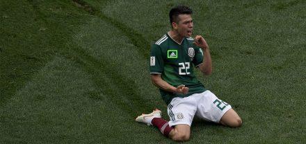 Mundial: México gana en el campo y en las redes