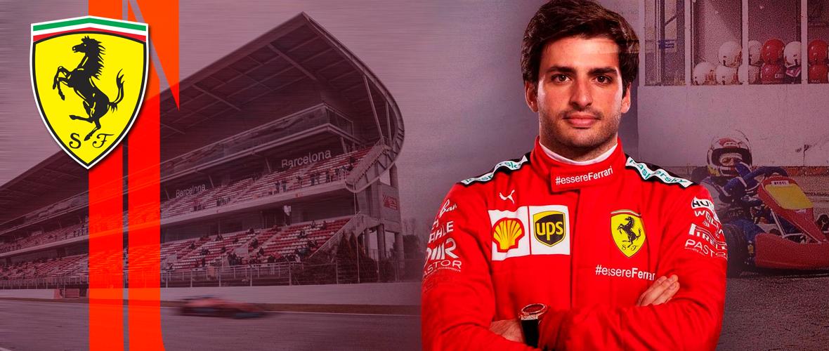 Las redes de Carlos Sainz pisan a fondo con su llegada a Ferrari