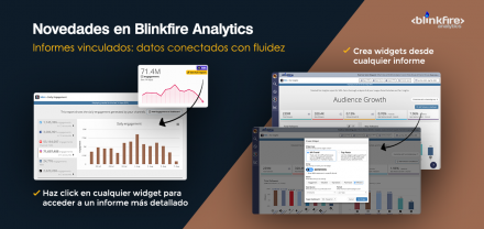Novedades en Blinkfire (II): vinculación entre widgets e informes