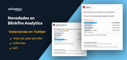 Novedades en Blinkfire: votaciones en Twitter