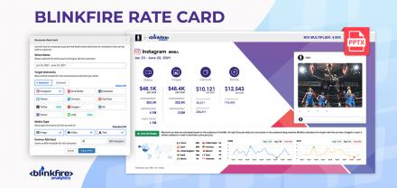Presentamos la Blinkfire Rate Card